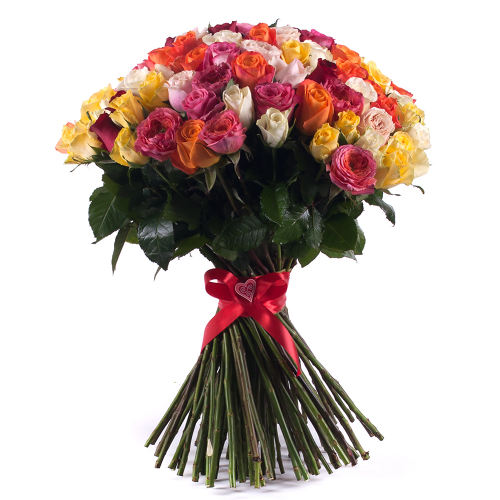 ae5b08cb8 Z kytice Amore farebné ruže Grand sa dnes bude tešiť Marta - DEMANDICE
