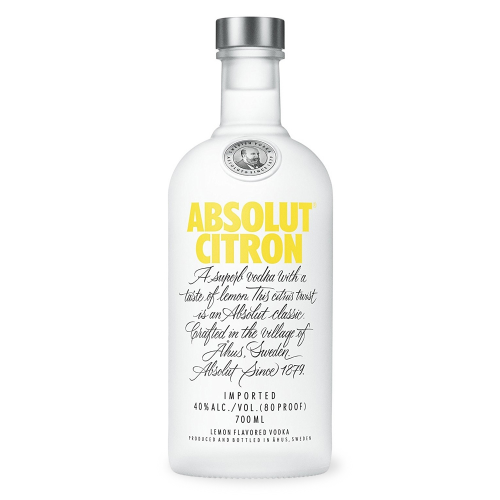 Absolut Citron 40% 0,7 l